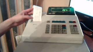 Кассовый аппарат АМС 100 к, обзор, инструкция кассира.