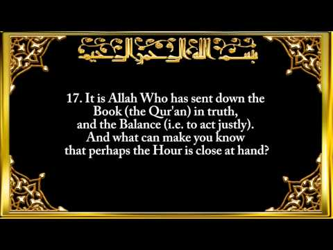 042. Surah Ash-Shurah (The Consultation)