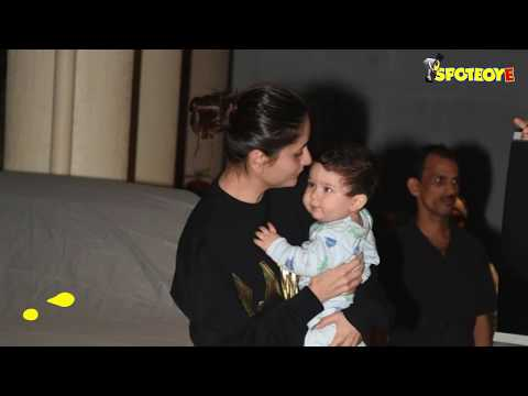 Thumbnail: SPOTTED: Kareena Kapoor Khan with Baby Taimur Post her Birthday Celebrations | SpotboyE