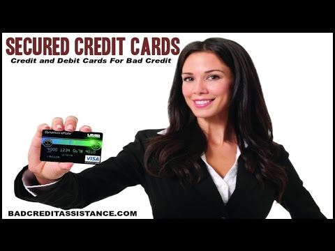 Credit Cards For Bad Credit Best Secured Credit Card