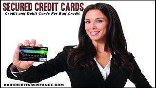 CREDIT CARDS FOR BAD CREDIT ֍ BEST SECURED CREDIT CARD