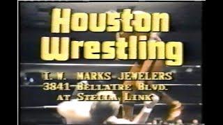 Houston Wrestling - Dec.  30th, 1978
