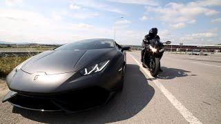 Lamborghini Huracan VS 14' CBR 1000RR [ Part 2 ] ( Turkey )