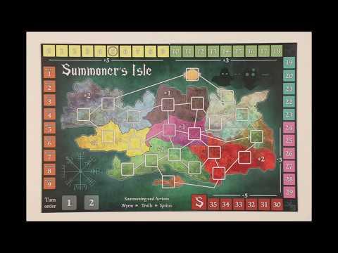 Summoner's Isle | Board Game | BoardGameGeek