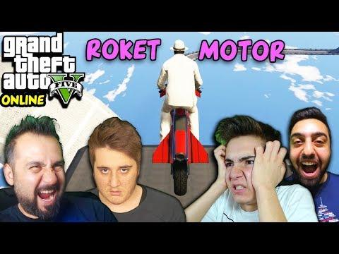 ROKET MOTORLARLA YARIŞ! | EKİPLE GTA 5 ONLINE