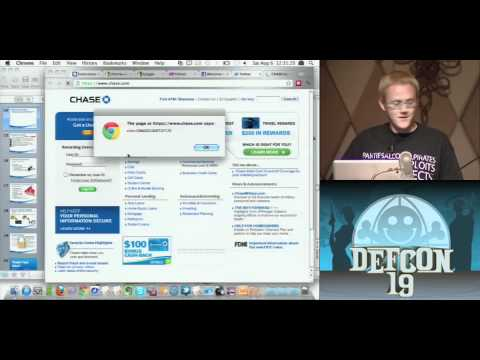 DEFCON 19: Hacking Google Chrome OS (w speaker)