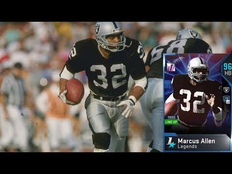THE MARCUS ALLEN EXPERIENCE! MADDEN 19 ULTIMATE TEAM