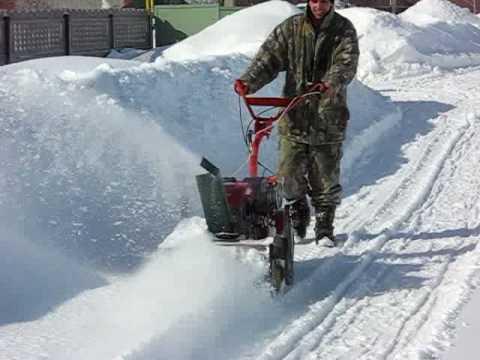 самодельные снегоуборочные приспособления
