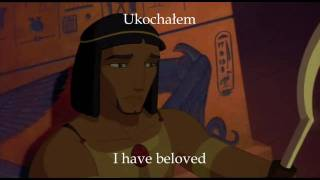 Prince of Egypt - All I Ever Wanted (Polish w/subs & translation)