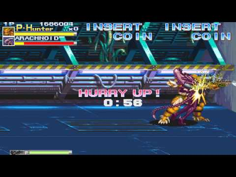 1994 Aliens vs Predator Arcade Old School Game Playthrough retro Game