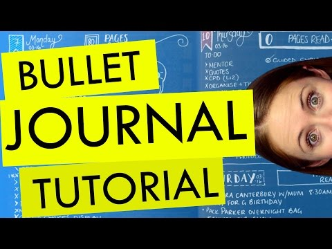 How to Create a Bullet Journal Plus My Top 10 Tips