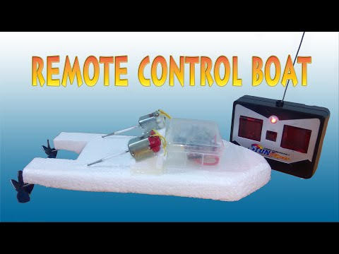 How To Make Boat Remote Control Two Motors