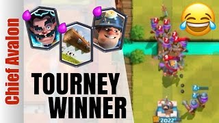 THIS IS THE STRONG MINER DECK TO WIN CLASH ROYALE TOURNAMENTS!