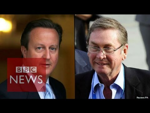 Ashcroft 'not settling scores' with PM David Cameron - BBC News