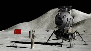 What a Soviet manned landing mission to the Moon would have looked like