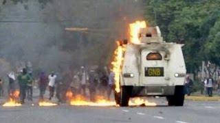 Enfrentamientos con la GNB en Barquisimeto