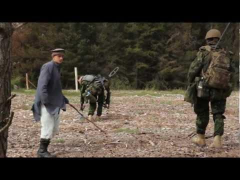 Sårede Soldater Og Tilbagetrækning På MISU