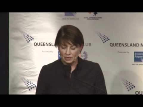 Queensland Media Club speech