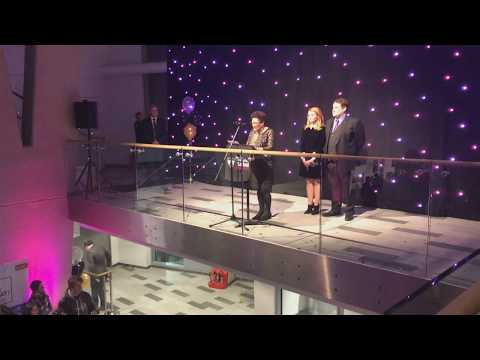 Peter Kay Unveils The New Adelphi Building at University Of Salford