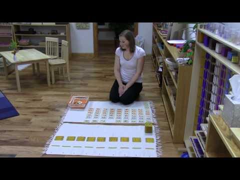 Combining Symbol and Quantity - Math at OakHaven Montessori School