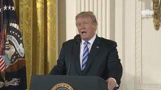 President Trump Hosts the Public Safety Medal of Valor Awards Ceremony