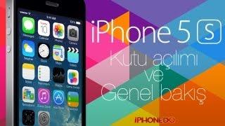 iPhone 5s sırası, kutu açılışı ve genel bakış