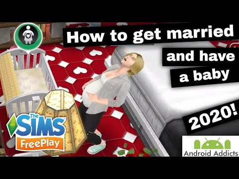 The Sims Freeplay - How To Get Married And Have A Baby (2020)