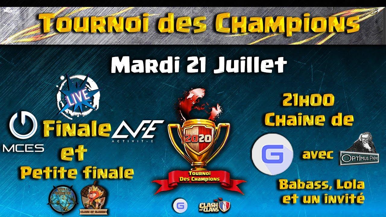 MCES vs Activit-E 🏆 La FINALE du Tournoi des Champions #GEmFo Juillet 2020 | Clash of Clans