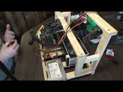 Gutting A Computer To Build A Mining Rig Part 2