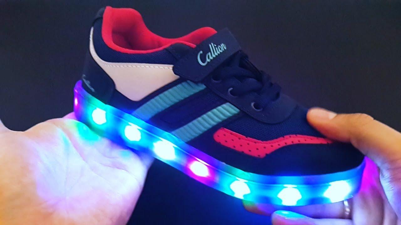 97df7d7f Светящиеся кроссовки для детей. - YouTube