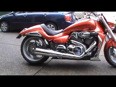 2008 m109r with Cannon Exhaust