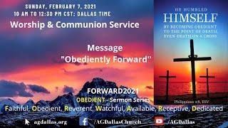 Obediently Forward - Dr. Leslie Verghese/Stanley George