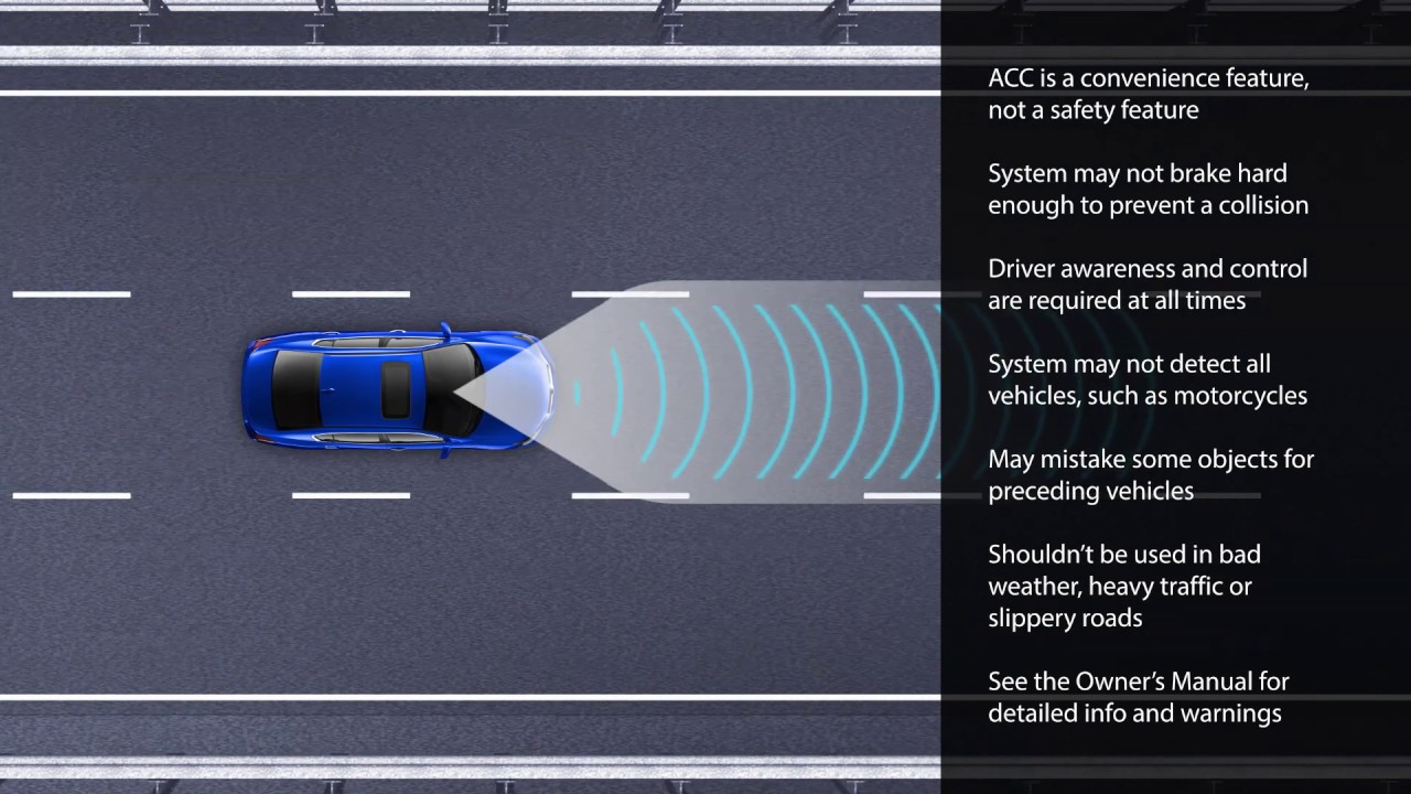 Cruise Control Should Not Be Used >> How To Use Adaptive Cruise Control Acc