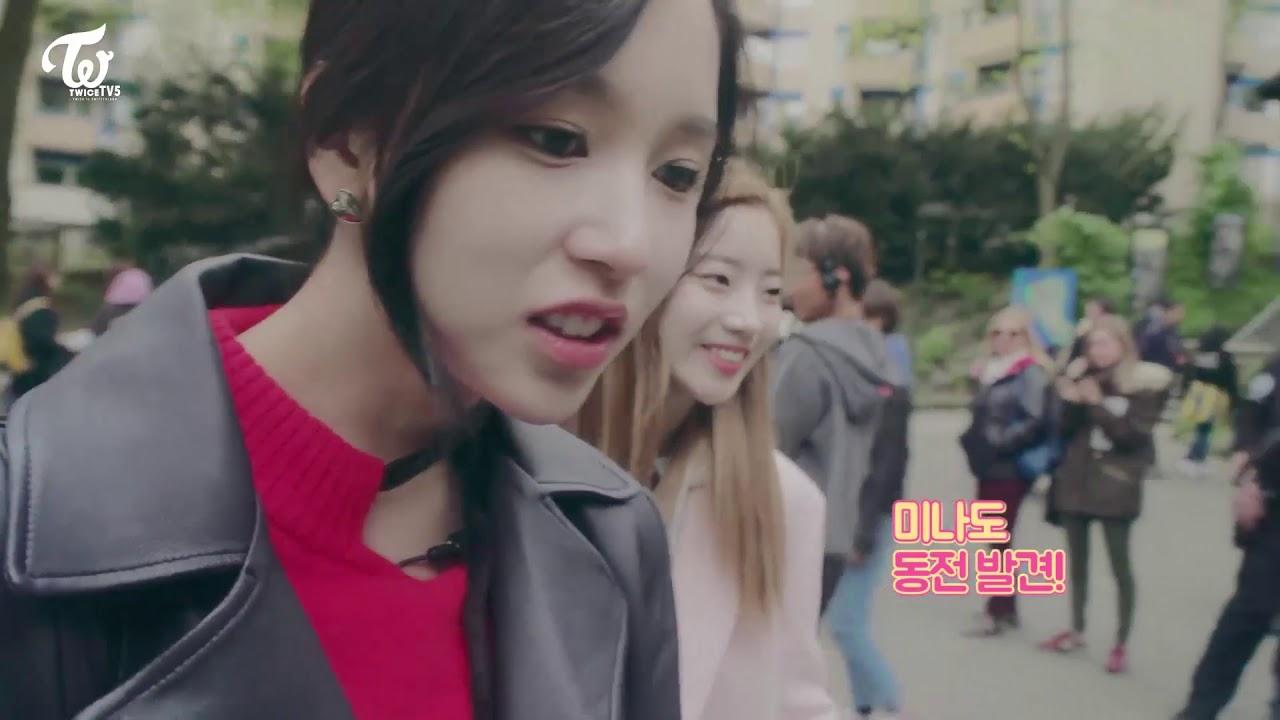 트와이스 TWICE tv5 미나모음(21~22편) - YouTube