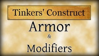 Tinkers Construct Armor - Modsauce Tutorial - Modded Minecraft