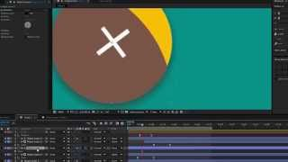 Material Design - Floating Action Button ripple effect - After Effects Tutorial