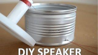 Homemade Speaker