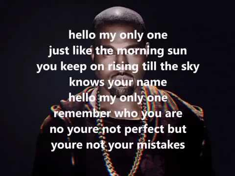 Kanye West Ft Paul Mccartney (Only One) [audio Lyrics] - YouTube