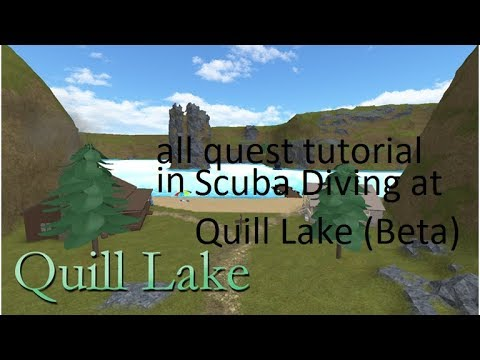 Alll Quest In Scuba Diving At Quill Lake Beta Voice Tutorial