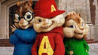 Элвин и бурундуки -пазл игра для детей / Alvin and the Chipmunks puzzle game for kids
