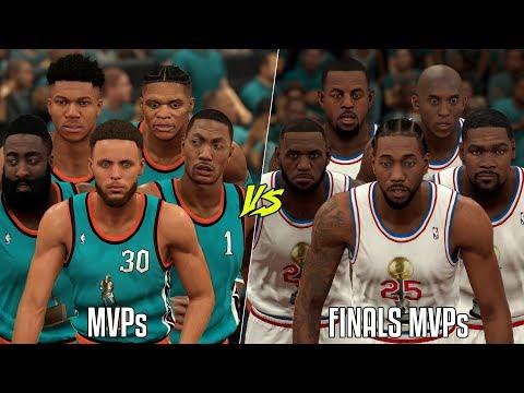Team Of MVP Winners Vs Finals MVP Winners! | NBA 2K20