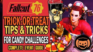 Trick-or-Treat: How to Eaṡily Complete Candy Challenges & Unlock the Popcorn Machine?   Fallout 76