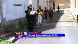 Download Video Manado Diguncang Gempa 7,3 SR - NET12 MP3 3GP MP4