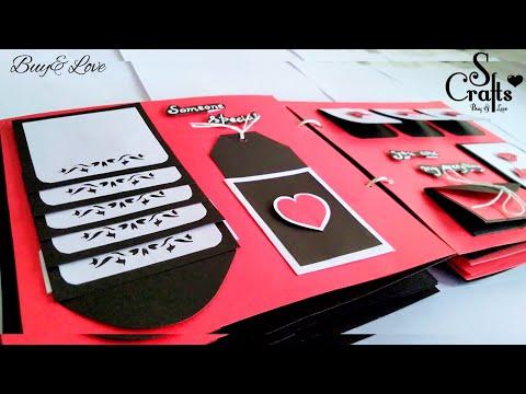 Scrapbook ❣️   Handmade   Anniversary gift   Birthday Card   Gift Ideas   10 turns
