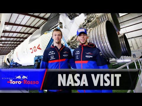 Pierre Gasly & Daniil Kvyat visit NASA HQ! | Behind the Scenes