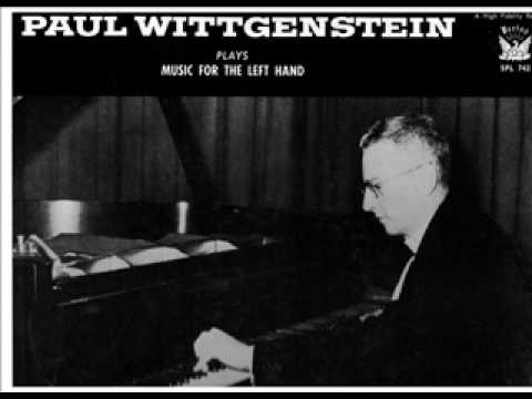 Bach/Brahms - Chaconne for the left hand - Paul Wittgenstein (1)