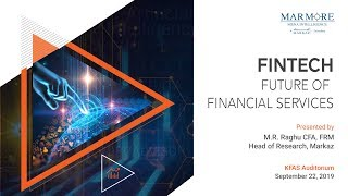Fintech Talk - Future of Financial Services