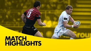Saracens vs Exeter Chiefs - Aviva Premiership Rugby 2013/14