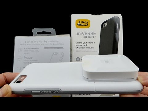 OtterBox UniVERSE Case & Square Contactless + Chip Reader: Process Chip Cards & Apple Pay On The Go!