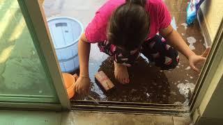 Easiest Way To Clean Sliding Door or Windows | How To Clean Sliding Doors